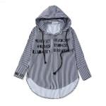 Striped Shirt with Hood | Jimin – BTS