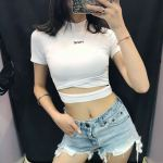 White Short Top | Lisa – Blackpink