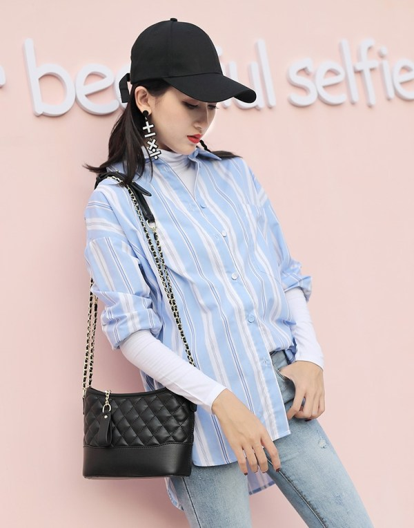 Elegant Black Bag | Hyuna