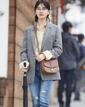 Light Grey Blazer | Nam Hong Joo – While You Were Sleeping