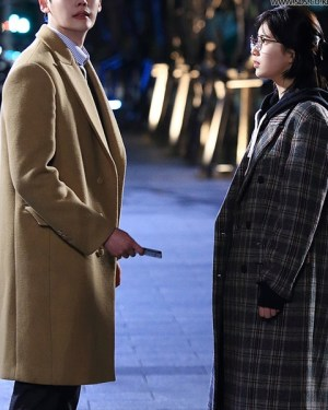 Checkered Coat | Nam Hong Joo – While You Were Sleeping