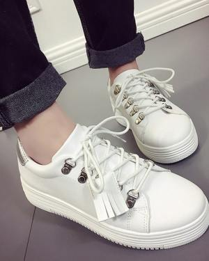 White Chic Sneakers