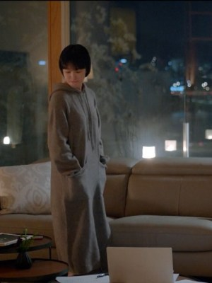 Long Hoodie Dress | Cha Soo-Hyun – Encounter