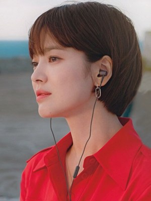 Silver Chain Earrings | Cha Soo-Hyun – Encounter