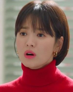 Red Turtleneck Sweater   Cha Soo-Hyun – Encounter