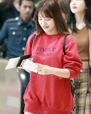 Simply Sublime Sweater | Yeri – Red Velvet