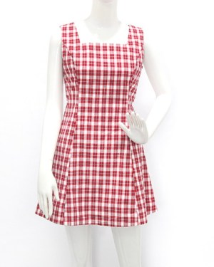 blackpink-jennie-red-checkered-dress2