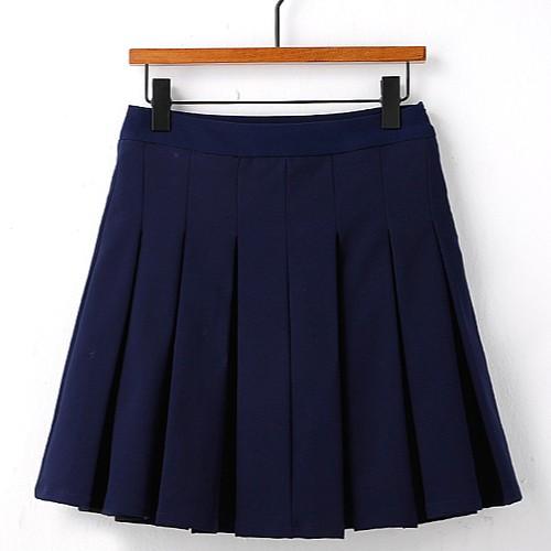 Blue Suit Skirt   Cha Soo-Hyun – Encounter