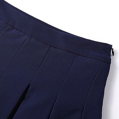 Blue Suit Skirt | Cha Soo-Hyun – Encounter