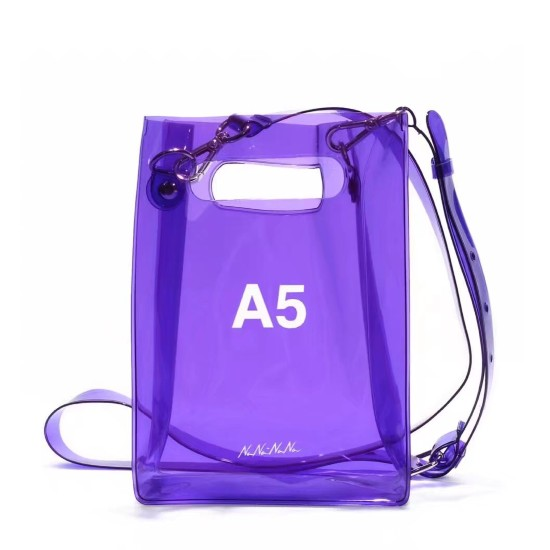 Lilac Transparent A5 Bag | Mina – Twice