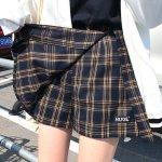 Skirt Checkered | Sana – Twice