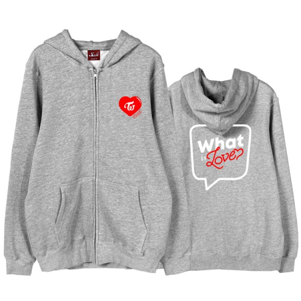 What Is Love Zip Hoodie | Twice