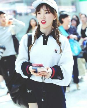 White Sweater With Collar | Wendy – Red Velvet