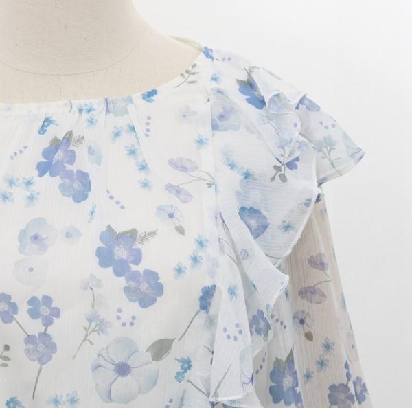 White Blue Flower Dress | Jung Hee Joo – Memories of the Alhambra