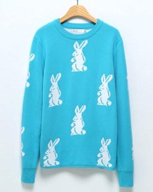 bts-taehyung-baby-blue-rabbit-sweater