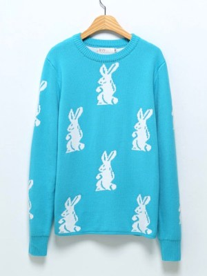 bts-taehyung-baby-blue-rabbit-sweater