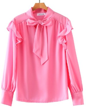 my-id-is-gangnam-beauty-kang-mirae-pink-elegant-blouse