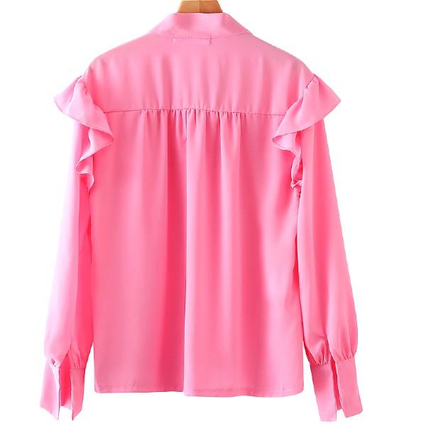 Pink Elegant Blouse   Kang Mi Rae – My ID Is Gangnam Beauty