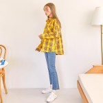 Yellow Checkered Shirt With One Bag | Kang Mi Rae – My ID is Gangnam Beauty