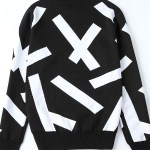 Comfy Black White Sweater | Luhan – EXO