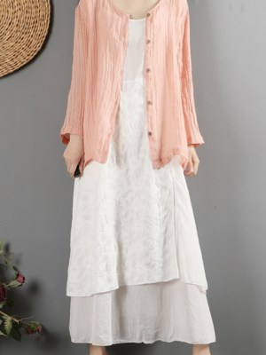 J-HOPE Pink Hemp Cardigan (3)