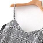 Grey Checkered Dress   Jisoo – BlackPink