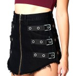 Rose Kill This Love Skirt   BlackPink
