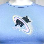 Blue Cute Puppy Crop T-Shirt | Hyuna