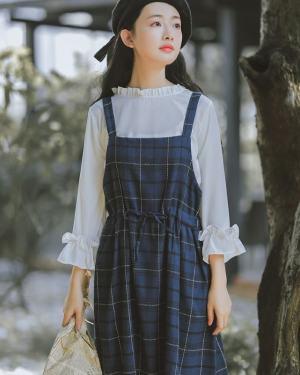 Dahyun Striped Strap Dress (8)