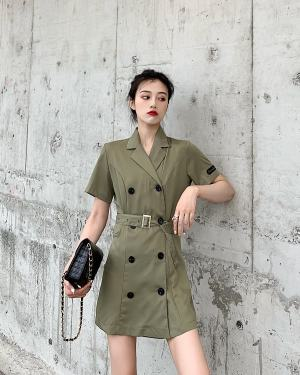Hyuna Army Dress (4)