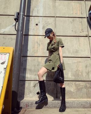 Army Dress | Hyuna