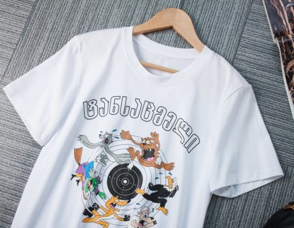 Cartoon Animals Target Shoot T-Shirt | Lisa – BlackPink