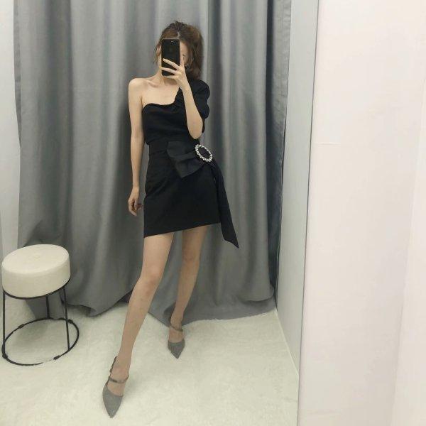 Black Half Ribbon Skirt | Yeri – Red Velvet