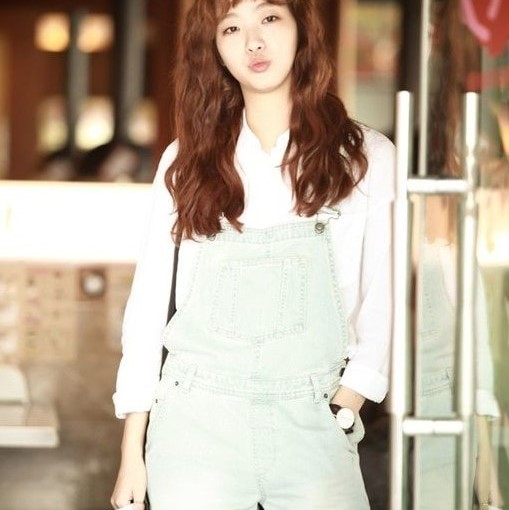 Cheese in the Trap Fashion Hong Seol wearing Jeans Jumpsuit