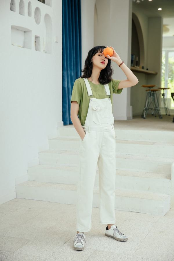 Jeans Jumpsuit | Hong Seol – Cheese in the Trap