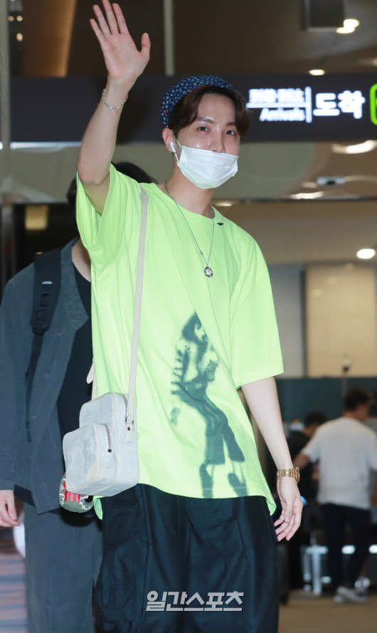 Michael Jackson Print Green T-Shirt | J-Hope – BTS
