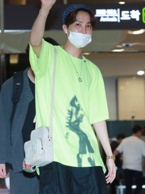 Michael Jackson Print Green T-Shirt | J-Hope – BTS
