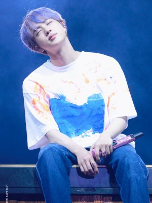 Jin Own Design Graffiti T-Shirt | Jin – BTS