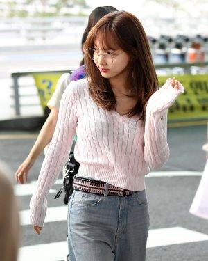 V-Neck Short Knit Sweater | Nayeon – Twice