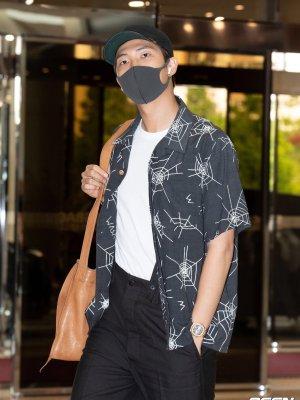 Spider Webs Loose Shirt | RM – BTS