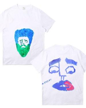 Taehyung Own Design Graffiti T-Shirt (4)