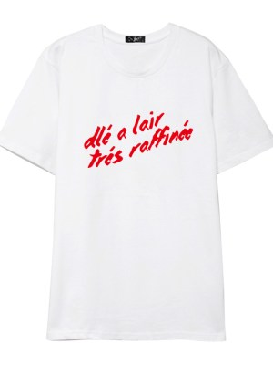 Wheein French Phrase T-Shirt (3)