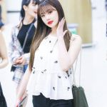 Embroidered Hanging Neck White Top | Soojin – (G)I-DLE