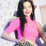 Slant Chest Cut Crop Top | Joy – Red Velvet