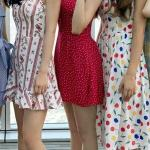 Red Floral Print Strap Dress | Momo – Twice