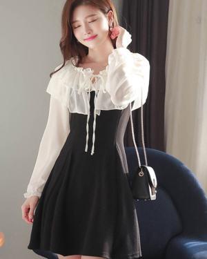 Frill Lace Mini Dress | Dahyun – Twice