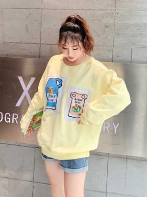 Jennie Cute Bear In Pitcher Yellow Sweater (4)