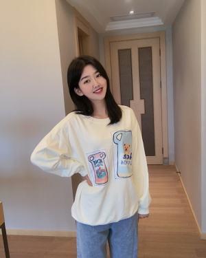 Jennie Cute Bear in Pitcher Yellow Sweater (1)