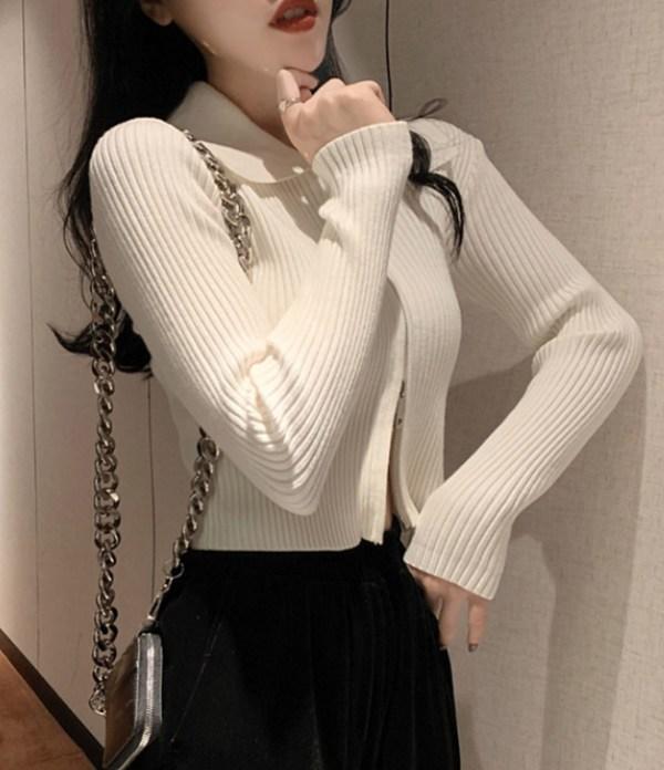 White Double Zipper Collared Jacket | Solar -Mamamoo