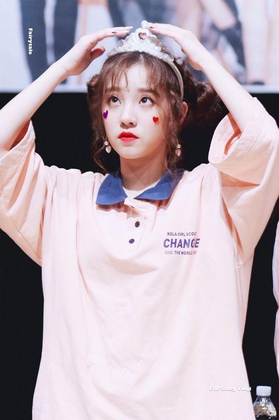 """Girls Change The World"" Pink Polo Shirt Dress | Yuqi – (G)I-DLE"